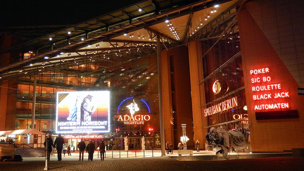 คาสิโนใน เบอร์ลิน Spielbank at Potsdamer Platz