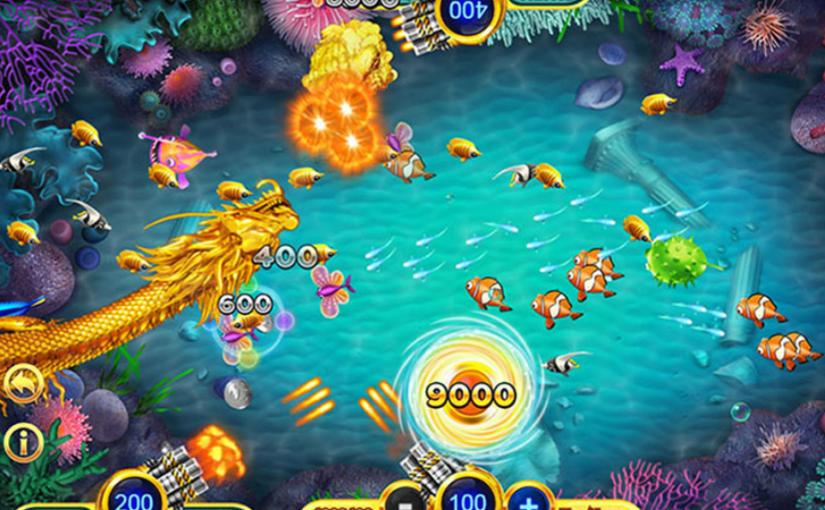 การเล่นเกมยิงปลา